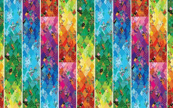 Фото бесплатно орнамент, полосы, цвета