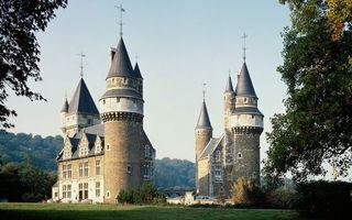 Фото бесплатно замок, крыша, флигель