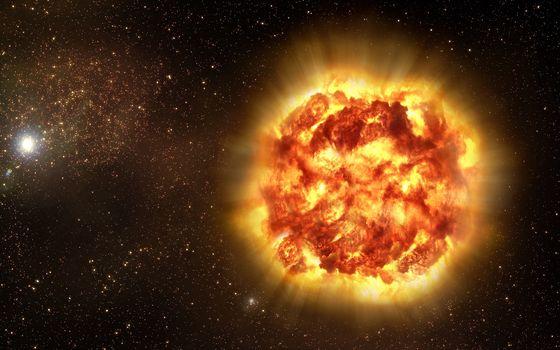 Photo free star, sun, explosion