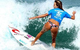 Фото бесплатно чемпион, волна, alana blanchard, море, серф