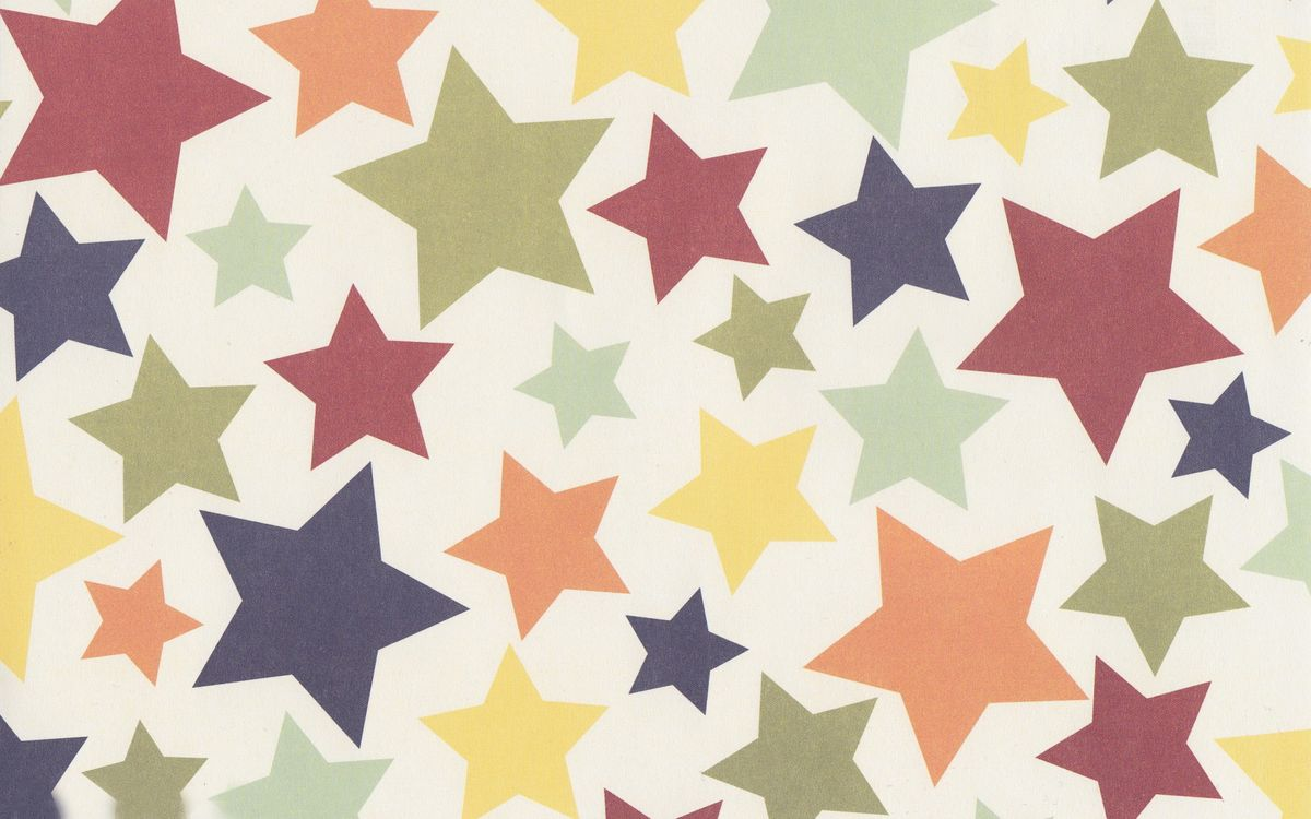 Photos for free abstraction, stars, colorful - to the desktop