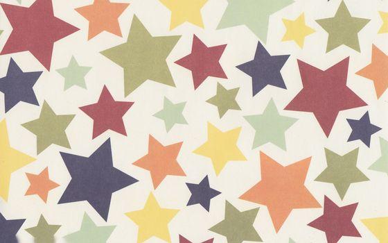 Заставки абстракция, звездочки, разноцветные