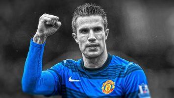 Бесплатные фото футболист,форма,синяя,рука,жест,волосы,уши