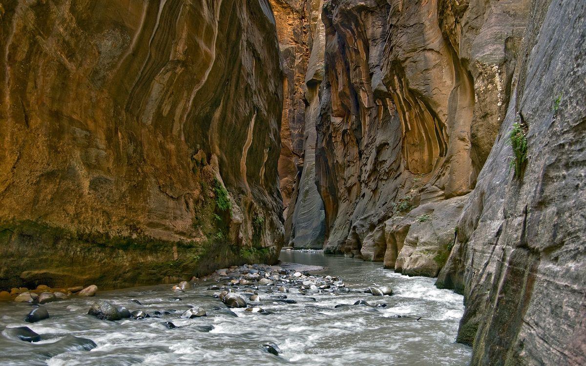 Фото бесплатно горы, скалы, река - на рабочий стол