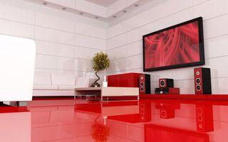 Photo free room, filling, floor