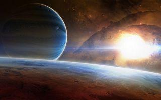 Фото бесплатно космс, планеты, звезды