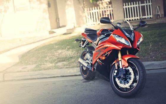 Photo free motorcycle, lights, brakes