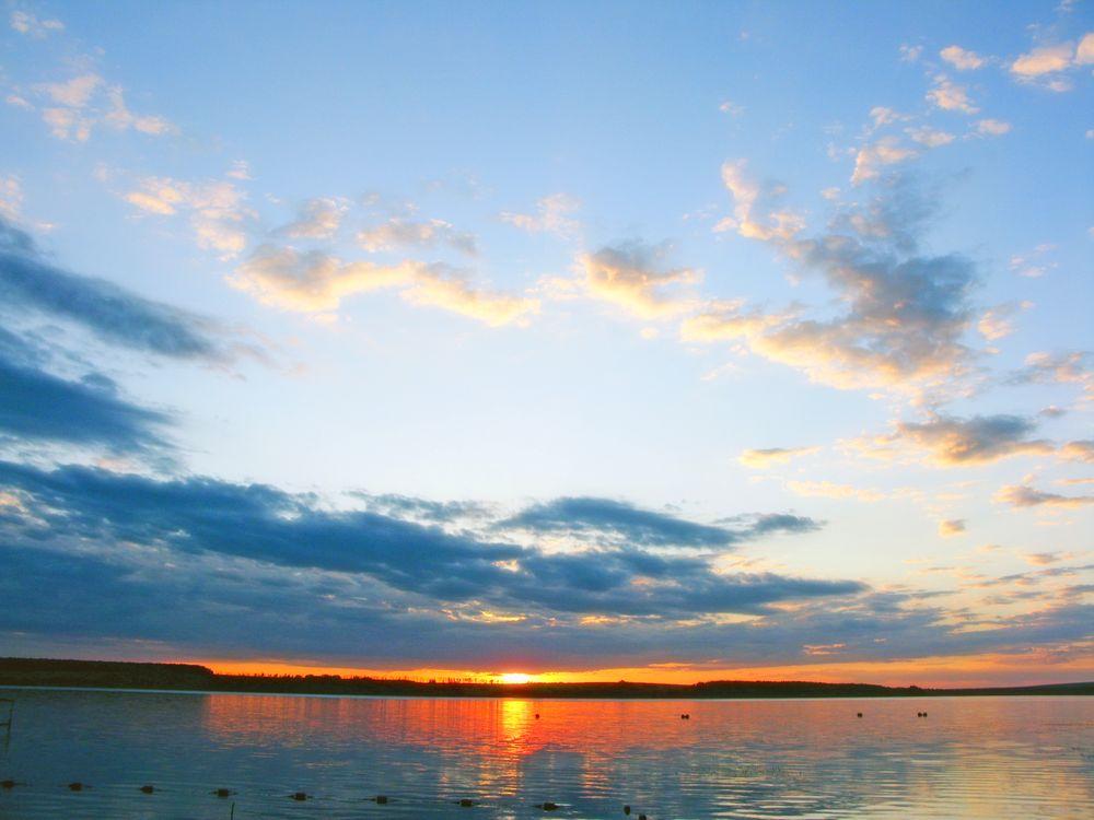 Фото бесплатно пейзаж, море, закат - на рабочий стол