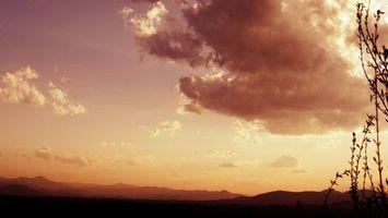 Фото бесплатно поле, горы, холмы