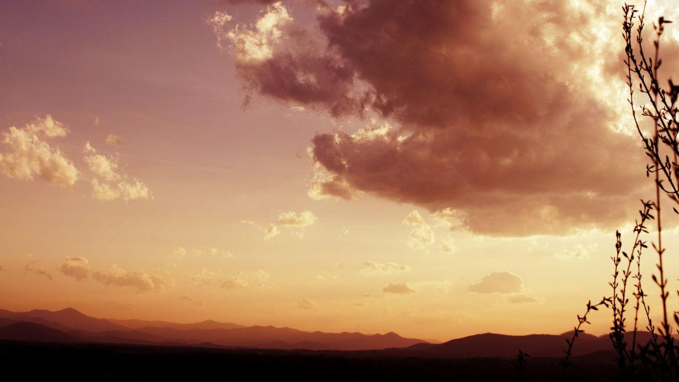 Фото бесплатно горы, природа, холмы - на рабочий стол