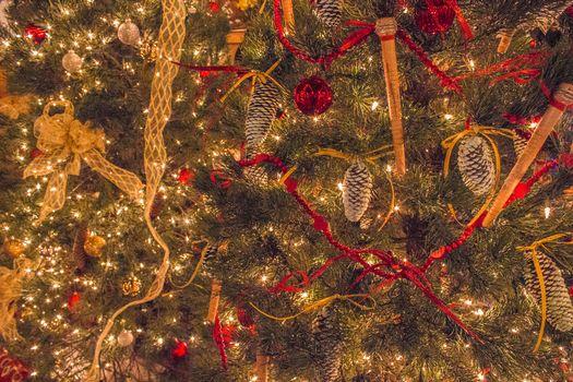 Фото бесплатно Новогодние обои, елочные украшения, элементы
