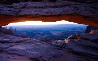 Фото бесплатно скала, пещера, высота