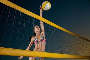 Фото бесплатно спорт, девушка, мяч