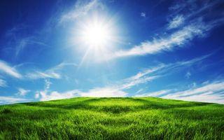 Бесплатные фото трава, небо, облака, поле, лето, солнце, природа
