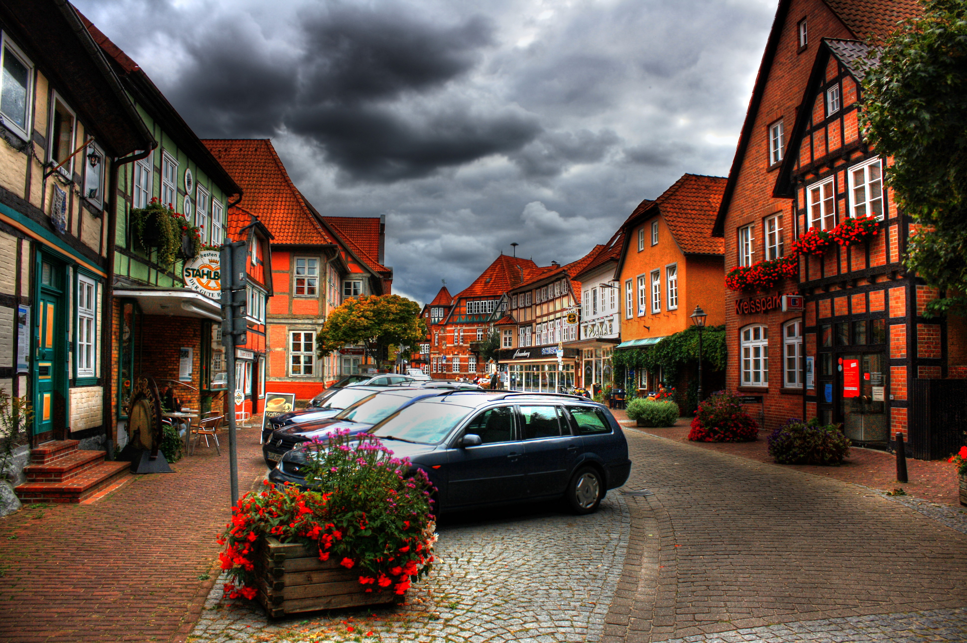 Lorch Village, Hesse, Rhine River, Germany  № 78337  скачать