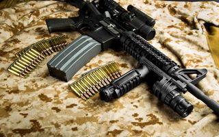 Бесплатные фото автомат,патроны,пули,магазин,оружие