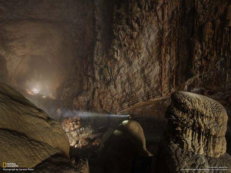 Photo free cave, huge, unexplored