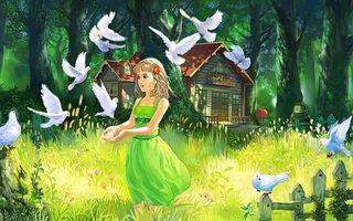 Бесплатные фото девушка,арт,живопись,взгляд,глаза,красивые,разное
