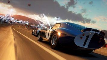 Фото бесплатно гонки, машины, трасса