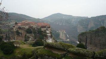Фото бесплатно горы, скалы, трава