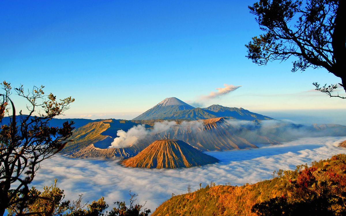 Фото бесплатно горы, вулканы, вершины - на рабочий стол
