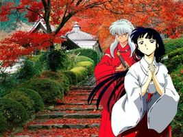 Фото бесплатно inuyasha, kikyo, trees