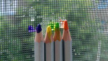 Бесплатные фото карандаши,цветные,грифели,сетка,забор,искусство,художество
