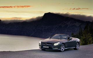 Бесплатные фото мерседес,кабриолет,фары,дорога,скорость,бампер,машины