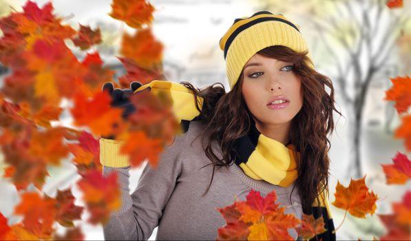 Photo free nature, fall, girls
