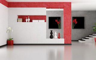Заставки орхидея,тюльпан,красный,дом,стена,ремонт,книги