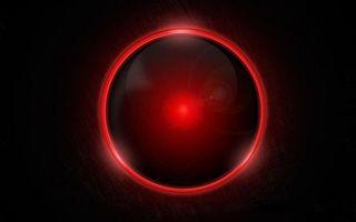 Photo free ball, circle, red