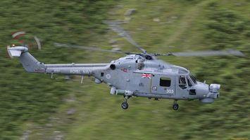 Фото бесплатно вертолет, серебристый, летит