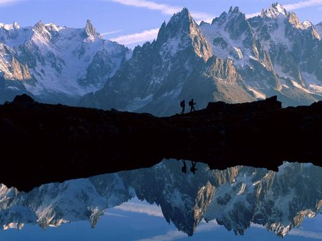Photo free water, mountains, ludi