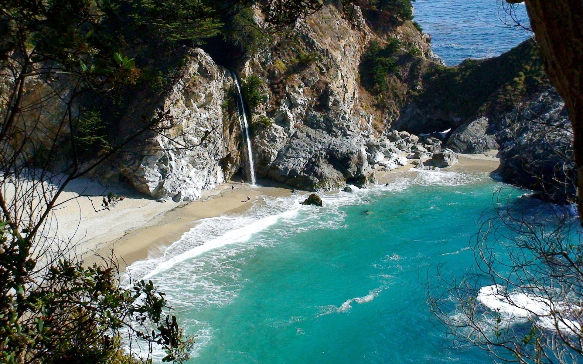 Водопад в море скачать