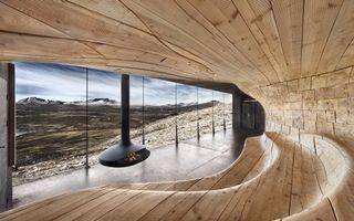 Фото бесплатно норвегия, пейзаж, камин