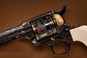 Заставки кольт,пистолет,рукоять,гравировка,надписи,узоры,оружие
