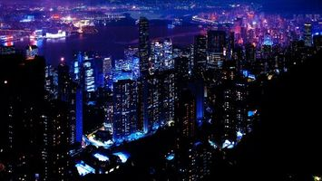 Заставки дома, город, небоскребы
