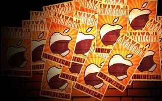 Бесплатные фото эйпл,стена,кирпич,яблоко,надпись,этикетки,объявления