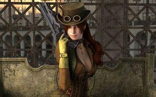 Фото бесплатно пушки, женщина, шляпу