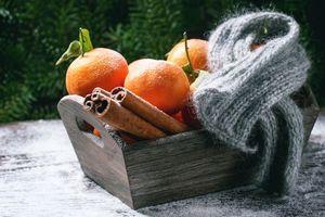 Фото бесплатно мандарины, фрукты, продукты