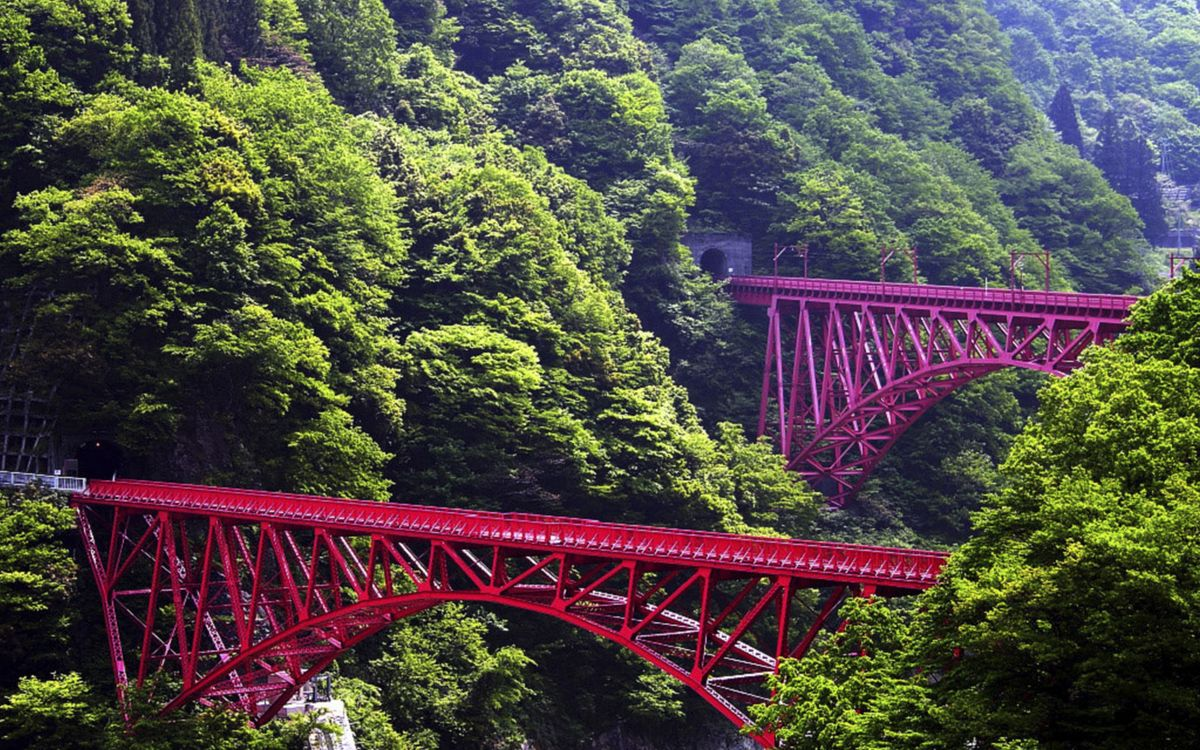 Фото бесплатно мост, вода, река, отражение, небо, дорога, горизонт, пейзажи, пейзажи