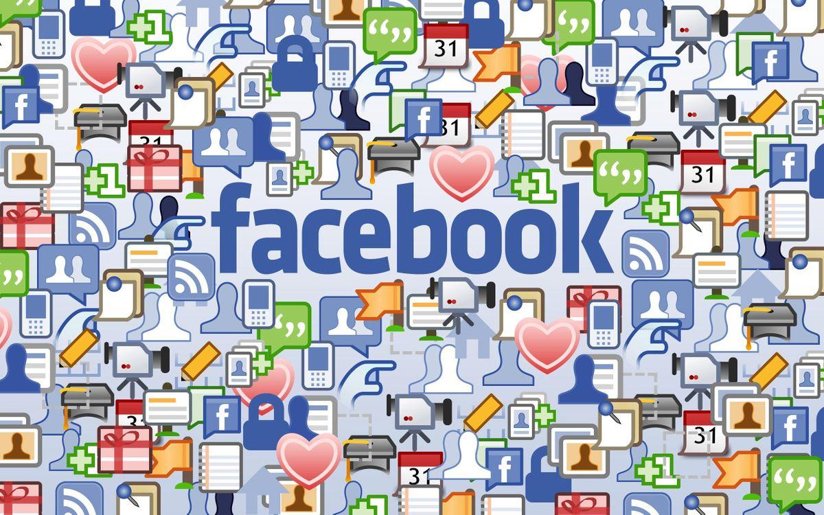 Фото бесплатно надпись, фейсбук, буквы, значки, социальная, сеть, hi-tech, hi-tech