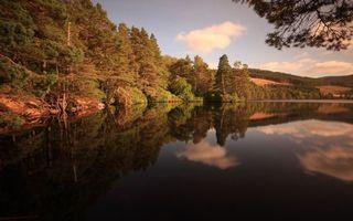Бесплатные фото река,вода,деревья,берег,небо,облака,природа