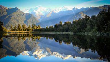 Бесплатные фото река,вода,деревья,лес,горы,облака,небо