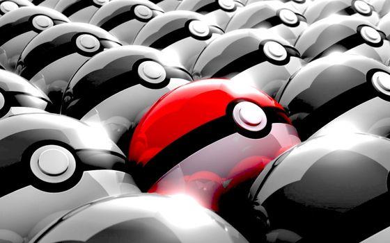 Фото бесплатно шары, круги, черно-белые