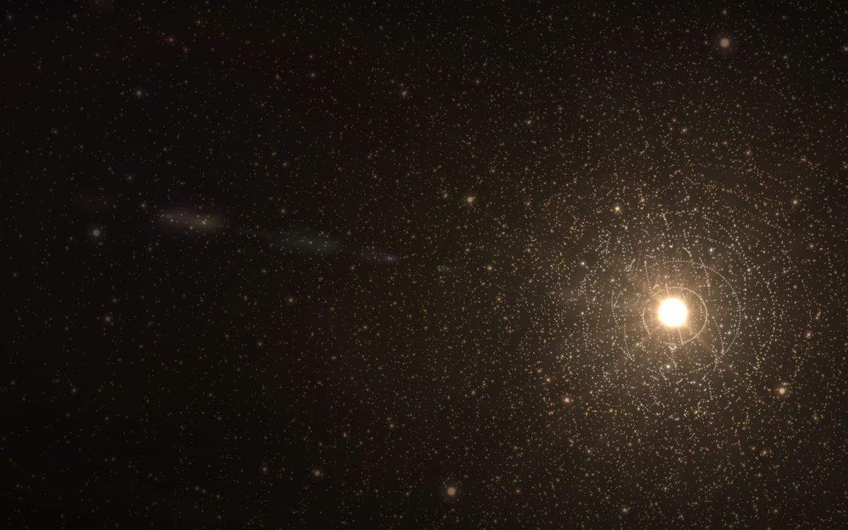 Обои звезда, солнце, звезды, солнечная система, снимок, hubble, космос на телефон | картинки космос