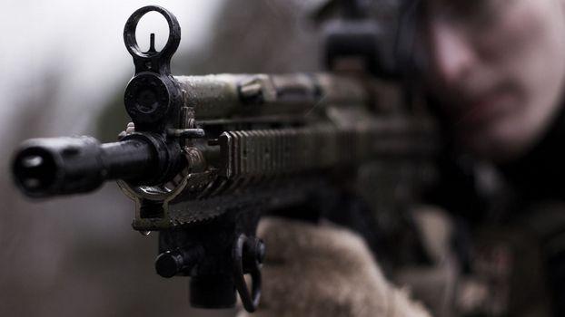 Фото бесплатно автомат, война, оружие
