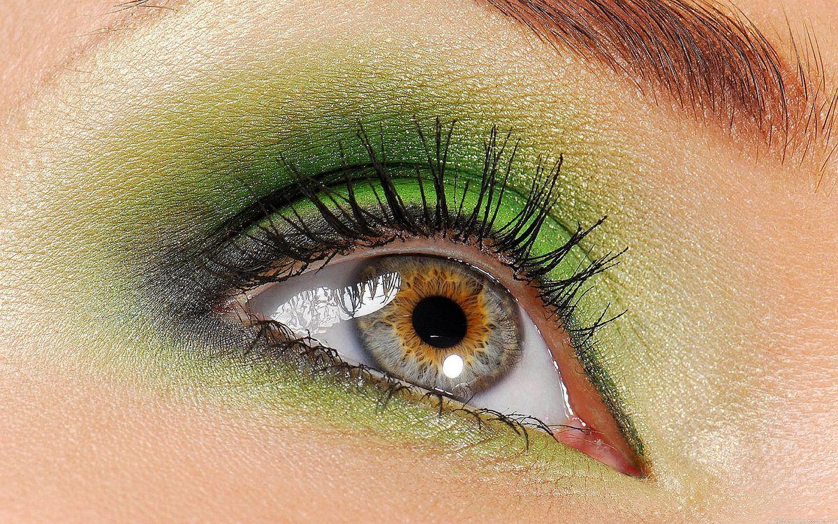 Фото бесплатно глаз, веко, ресница, тени, зрачек, девушки, девушки