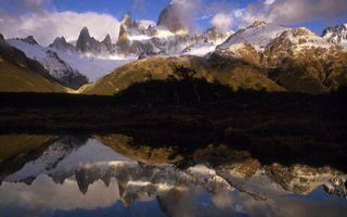 Фото бесплатно вершина, небо, природа