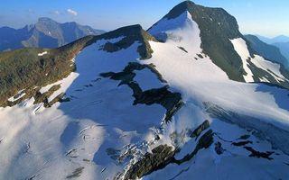 Бесплатные фото горы,снег,пик,мороз,зима,небо,облака